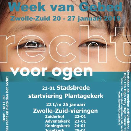 Week Van Gebed Viering Zwolle Zuid Koningskerk